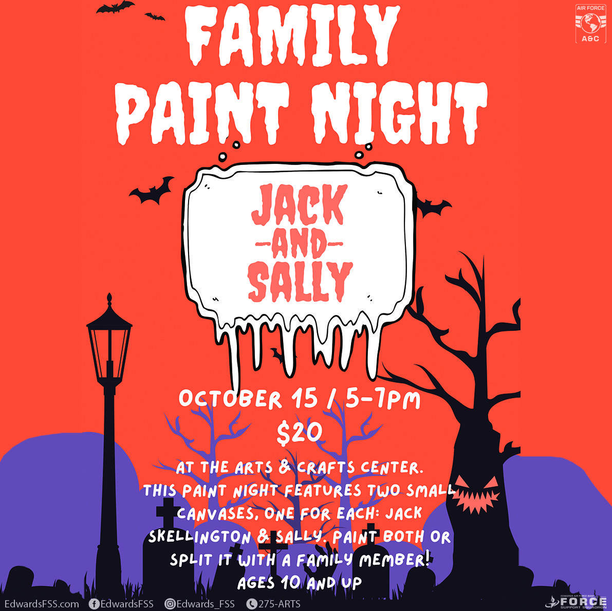 Arts and Crafts-Paint Night-Family-Edwards Air Force Base